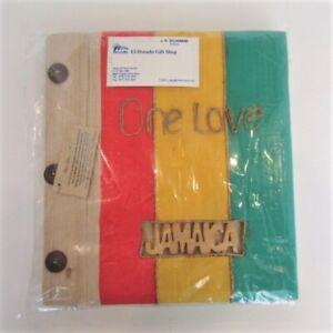 Jamaica One Love Photo Album Natural Materials New