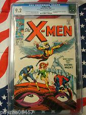 X-Men 49 CGC 9.2 Jim Steranko Cover Origin Beast 1st Polaris Appearance