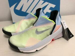 "Nike Go Flyease ""WHITE/CELESTINE BLUE-VOLT"" CW5883-100 US 6 - 10.5 Authentic"