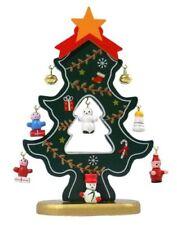 Statuine pupazzi di neve bianchi per l'albero di Natale