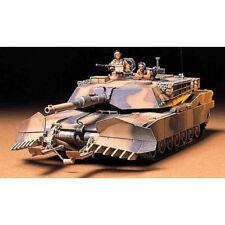TAMIYA 35158 M1A1 Abrams w / mine plough 1,35 kit de modèle militaire