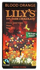 Lily's - Dark Chocolate Bar 70% Cocoa Blood Orange - 2.8 oz.