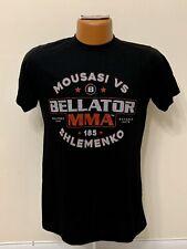Bellator MMA 185 Mousasi vs Shlenmenko Fight T-shirt. Size Small. Good Condition