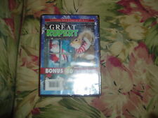 The Great Rupert/Winslow The Christmas Bear (DVD) Double Features, NEW