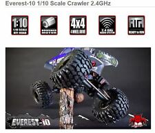 NEW 1/10 Scale ROCK CRAWLER COMPLETE READY TO GO REDCAT EVEREST-10 OFFROAD TRUCK