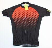 NEW Orange Mavic Cosmic Wind SL Cycling Vest Men/'s Size Medium Full Zip