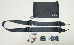 Peak Design Strap + Plate + Accessories