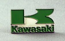 Metal Enamel Pin Badge Brooch Kawasaki Motorbike K Logo