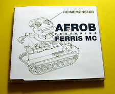 "CD "" AFROB FEAT. FERRIS MC - REIMEMONSTER "" SINGLE / 4 TRACKS"