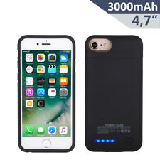 3000mAh Akku Hülle für iPhone6/6s/7 Power Bank Externes Batterie Case Zusatzakku