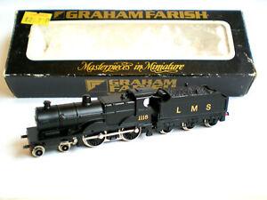 Graham Farish N Gauge LMS 4P 4-4-0 Tender Locomotive (SMOOTH RUNNER)
