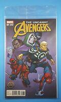 The Uncanny Avengers #1 GameStop Exclusive Variant Cover Marvel Comics Deadpool