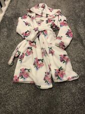 M&S Girls Dressing Gown Age 9-10 Years Bnwt Cosy Soft Warm Winter