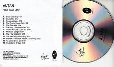 ALTAN The Blue Idol UK 13-trk promo test CD