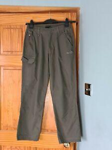 Peter Storm Ladies walking,Hiking Khaki trousers UK12 waist 30