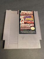 Jeopardy! 25th Anniversary  (Nintendo NES, 1990) Cart Only GREAT Shape