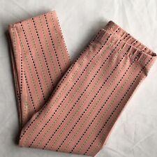 Hanna Andersson leggings Size 80 18 24 months 2T Pants Baby Girls orange peach