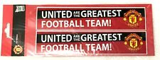 Manchester United Car Window Or Bumper Sticker  Official Club Gifts