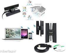 ADATTATORE LAN ANTENNA WIRELESS USB N WI-FI 2.4 GHZ 8 DBI EDUP EP-N8535