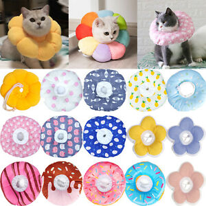 Cat Dog Cone Neck Collar Pet Bathing Recovery Anti-Bite Anti-Lick Protect Cover)
