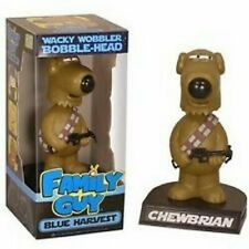 FAMILY GUY SHOW BLUE HARVEST CHEWBRIAN BOBBLE-HEAD TOY DOLL FIGURE BY FUNKO