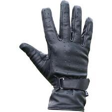 Fuel Helmets Full Cuff Leather Cruiser Gloves, Black Med/Large  NEW!!
