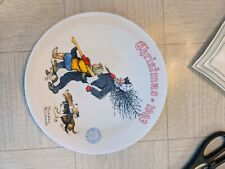 New Listing1993 Norman Rockwell Christmas Plate With Certificate