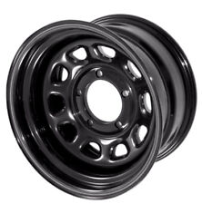 Black 17x9 D Window Steel Wheel 5x5 Jeep Wrangler JK 2007-2017 391550070 Outland