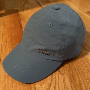 LL Bean Adjustable Pathfinder Head Lamp LED Light Hat Cap NEW Ceil Blue