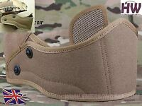 AIRSOFT OPS CORE MICH AF TACTICAL HELMET FRONT GUARD PROTECTOR TAN SAND CB UK