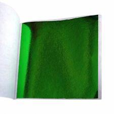 50PCS Feuille de métal vert feuille d/'or dorure imitation bricolage décor DIY