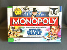 Star Wars Clone Wars Monopoly (2008) Complete in original box