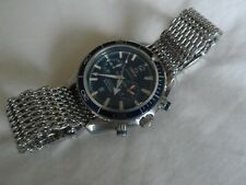 Original Steel Shark Mesh Bracelet for Omega Seamaster Speedmaster etc. 22 mm