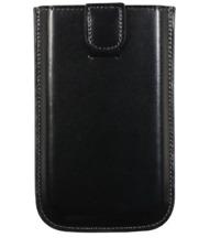 ETUI POUCH UNIVERSEL POUCH UP NOIR POUR iPHONE 3 3G 4 4S ECO-CUIR (PU)