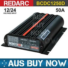 REDARC BCDC1250D Dual Input 50a In-vehicle DC Battery Charger