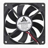 DC Silent 12V 80mm 15mm 80x80x15mm Brushless PC CPU Computer Cooling Fan 2pin