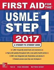 FAST SHIP - TAO LE 27e First Aid for the USMLE Step 1 2017                   GX6