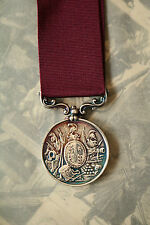 VR ARMY LONG SERVICE & GOOD CONDUCT LSGC MEDAL FULL SIZE 2nd PATTERN BOER