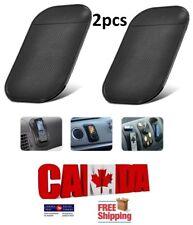 2pcs CAR MOBILE GPS HOLDER ANTI SLIP DASHBOARD PAD PHONE STICKY HOLDER MAT BLACK