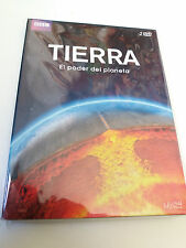 "DVD ""TIERRA"" 2DVD DIGIPACK BBC IAN STEWART EARTH THE POWER OF THE PLANET"