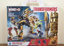Kre-O Transformers Grimlock Street Attack Gold Optimus Prime Kreo A6955 **NEW**