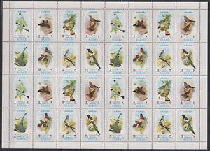 S464. Ajman - MNH - Animals - Birds - Full Sheet