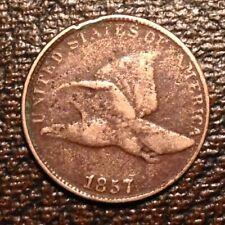 ~1857 US Flying Eagle Cent