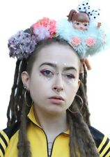 Doll Parts Gobbolino Pastel Goth Crown Headband Festival Headdress A
