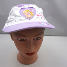 Barbie Hat Purple Girls Kid Size Adjustable Cadet Military Cap Pre-Owned ST231