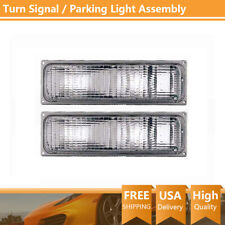 Turn Signal/Parking Light Assembly TYC 2 PCS For 1990-1993 Chevrolet C1500 PS12