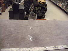 Twisted Stem Clear Champagne Glass, No Markings