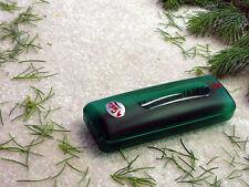 Holiday Christmas Tree & Wreath Needle Pick-up Brush, Hand-held Mini Sweeper
