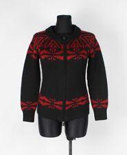 MONCLER intera con zip Donna Maglione di lana taglia S, ORIGINALE