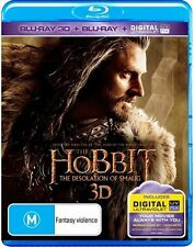 Hobbit - The Desolation of Smaug (Blu-ray, 2014, 4-Disc Set)